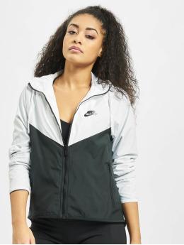 Nike Chaqueta de entretiempo Windrunner blanco
