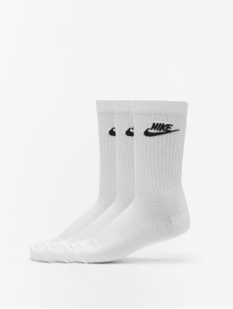Nike Chaussettes Evry Essential  blanc