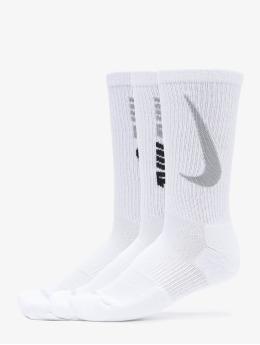 Nike Chaussettes Everyday Plus Cush Crew 3 blanc