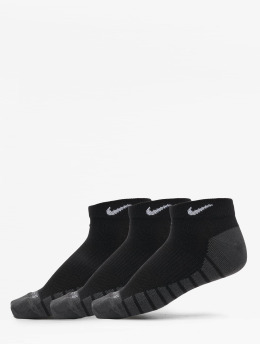 Nike Chaussettes Everyday Max Lightweight No-Show Training 3-Pack noir