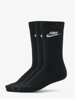Nike Chaussettes Evry noir
