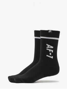 Nike Chaussettes AF1 Crew 2 Pair noir