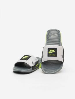 Nike Claquettes & Sandales Air Max 90 gris