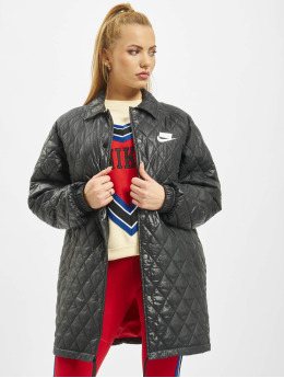 Nike Coats Quilted  black
