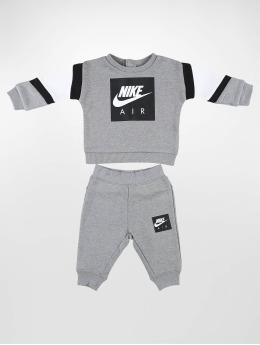 Nike Collegepuvut Air Crew & Pant harmaa