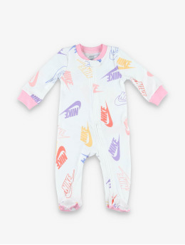 Nike Combinaison & Combishort Nkn Nsw Futura Footed Coverall blanc