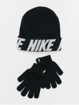 Nike Czapki Wordmark Coldweather czarny