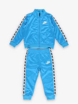 Nike Ensemble & Survêtement Block Taping Tricot bleu