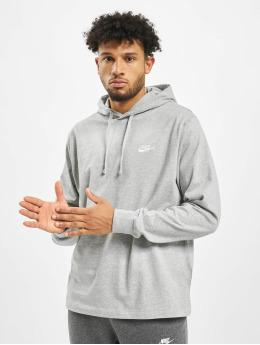 Nike Felpa con cappuccio Club  grigio