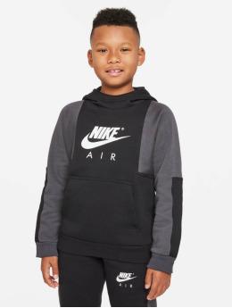 Nike Felpa con cappuccio Air Po nero