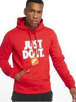 Nike Felpa con cappuccio DI PO Fleece rosso