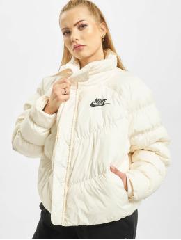 Nike Gewatteerde jassen Synthetic Fill beige