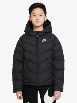 Nike Gewatteerde jassen Synthetic Fill zwart