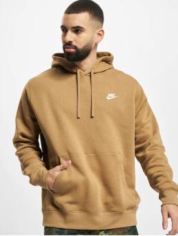 Nike Hoodie Club Po Bb  beige