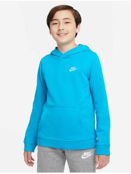 Nike Hoodie Club  blå