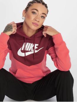 Nike Hoodie Sportswear red