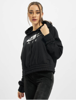 Nike Hoodie Air Fleece svart