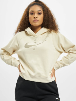 Nike Hoodies Swoosh Fleece beige