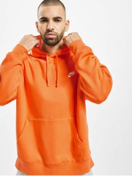 Nike Hoodies Club  orange