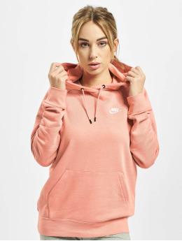 Nike Hoodies Essential Fleece růžový