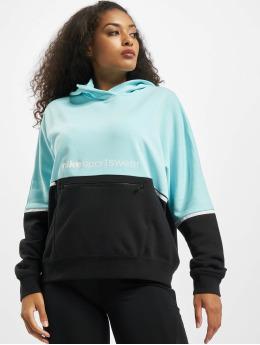 Nike Hoodies FT Archive Remix tyrkysový