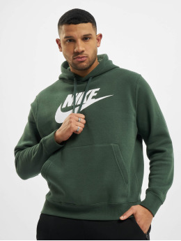 Nike Hoodies Club  zelený