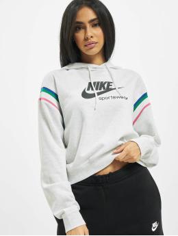 Nike Hoody Heritage grau