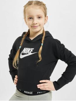 Nike Hoody Crop zwart