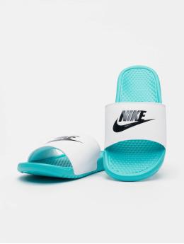 Nike Japonki Benassi JDI turkusowy