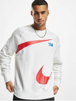 Nike Jersey Swoosh Crew blanco