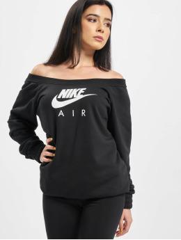 Nike Jersey Air Crew Fleece negro
