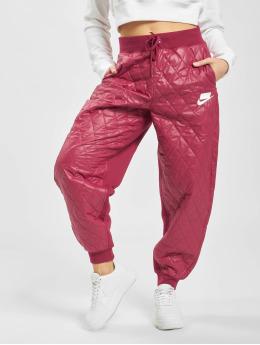 Nike Joggebukser Quilted  lyserosa