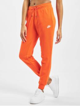 Nike Joggebukser Essential Regular Fleece  oransje