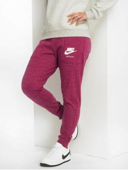 Nike Joggebukser Sportswear Gym Vintage red