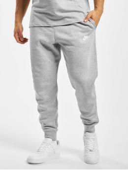 Nike Jogging kalhoty Club Sweat šedá