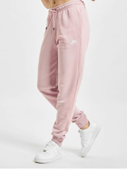 Nike Jogging kalhoty W Nsw Essntl Flc Mr růžový