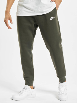 Nike joggingbroek Club BB  groen