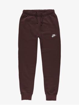 Nike joggingbroek Club  rood