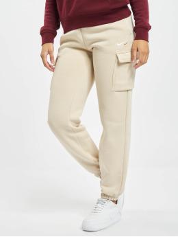 Nike Jogginghose NSW Cargo Loose Fleece beige