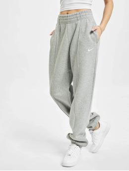 Nike Jogginghose W Nsw Essntl Flc Hr  grau