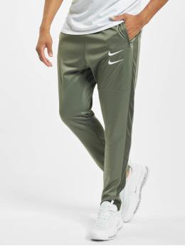 Nike Jogginghose Swoosh PK grün