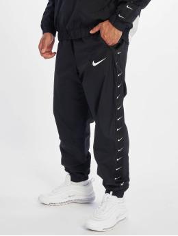 Nike Jogginghose Swoosh Woven schwarz
