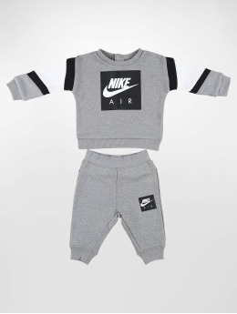 Nike Joggingsæt Air Crew & Pant  grå