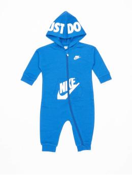 Nike Jumpsuit Nkn Hooded Baby Ft Coveral blau