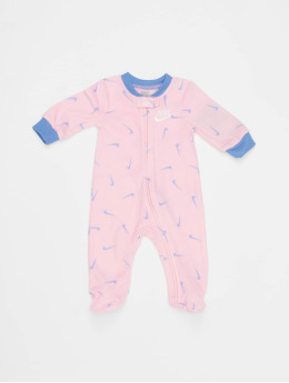 Nike Jumpsuit Nkg Swooshfetti Footed  pink