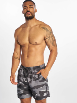 Nike Kąpielówki CE Camo Woven szary