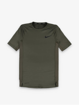 Nike Kompressionsshirt Pro Short Sleeve Tight khaki