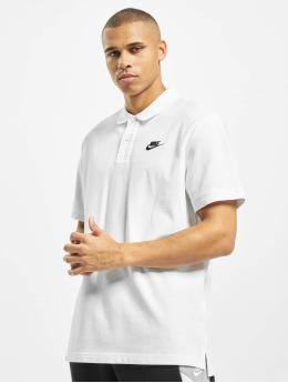 Nike Koszulki Polo Matchup bialy