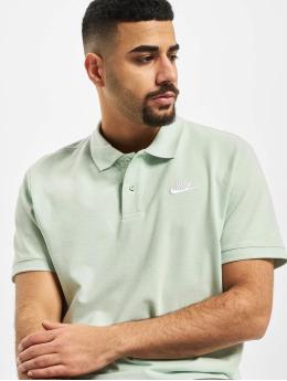 Nike Koszulki Polo Matchup PQ Polo zielony