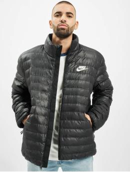 Nike Kurtki pikowane Synthetic Fill Bubble czarny